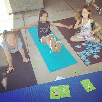 Having fun at Ladera Ranch Elementary School today! We are starting after school yoga next