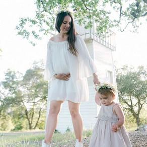 Shop my maternity shoot look