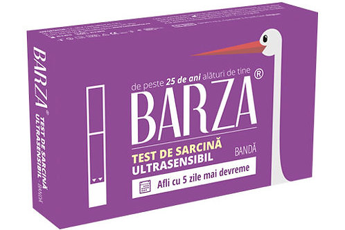 Test de sarcina Barza Ultrasensibil BANDA