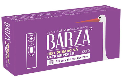 Test de sarcina Barza Ultrasensibil CASETA