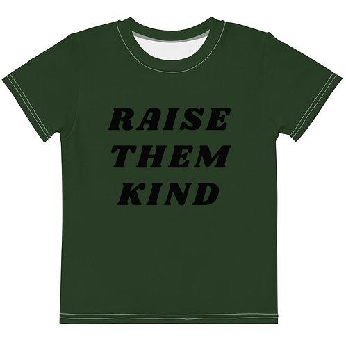 RAISE THEM KIND crew neck t-shirt
