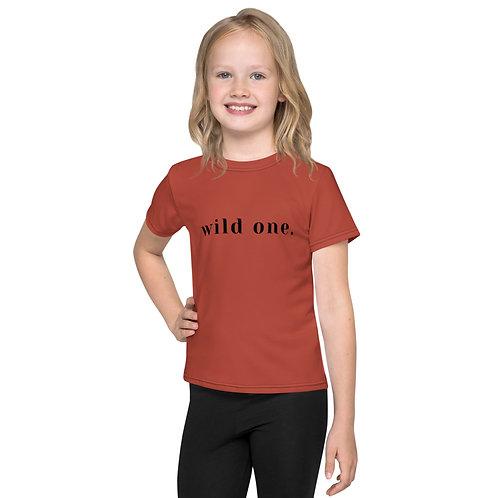 WILD ONE Kids crew neck t-shirt