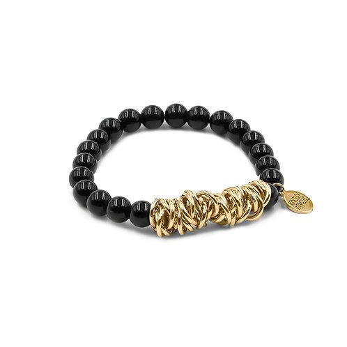 Miley Collection - Coal Bracelet S/M