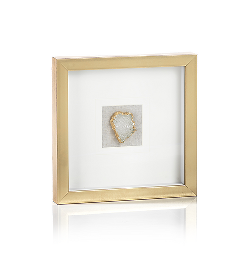 Gold Framed Crystal