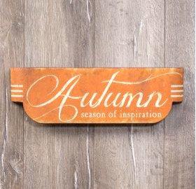 Autumn Season of Inspiration Sign