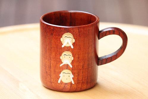 三猿マグカップ