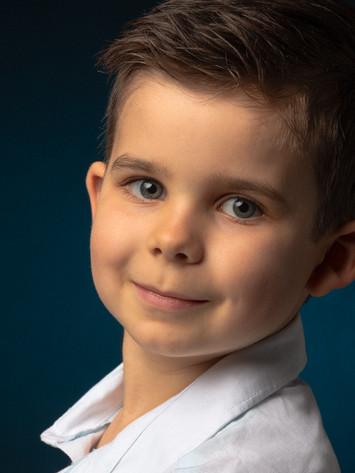 Child Headshot Andy Bowlin Photography
