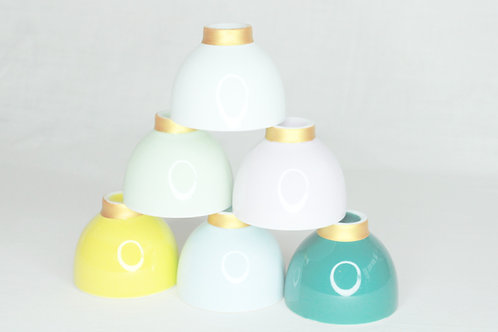 Set gekleurde tasjes