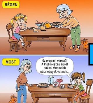 Az vagy, amit megeszel - avagy étkezés a generációkban