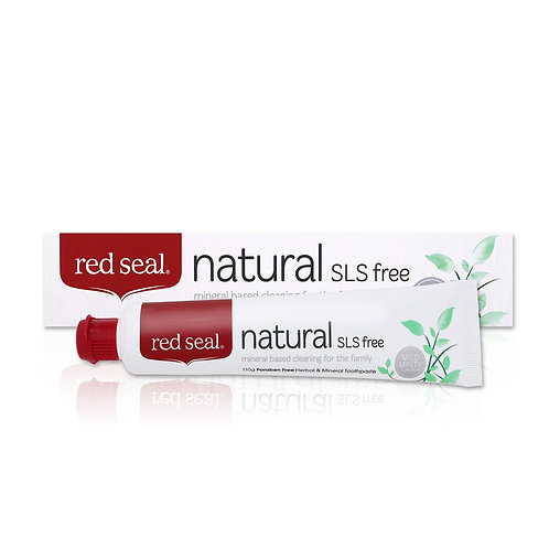"""Red Seal Natural SLS Free"" natūrali dantų pasta be SLS, 110 g"
