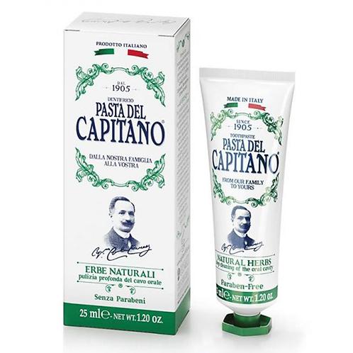 Dantų pasta PASTA DEL CAPITANO Natural Herbs, 25 ml