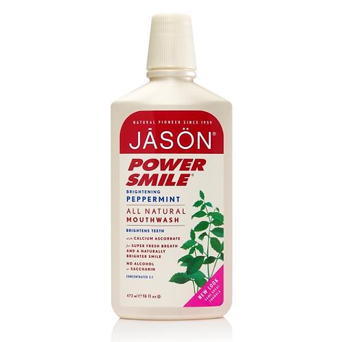 JASON natūralus burnos skalavimo skystis Powersmile™, 473 ml