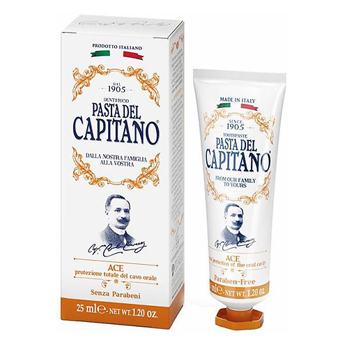 Dantų pasta PASTA DEL CAPITANO ACE, 25 ml