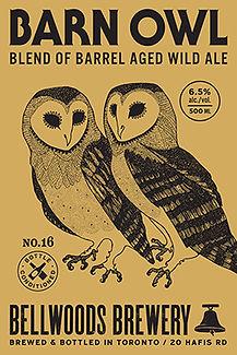 Barn Owl #10 (Apricot Brett IPA