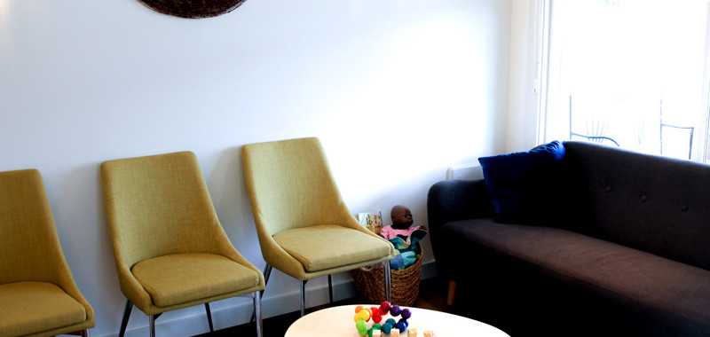 Cedar House Midwives Waiting Room