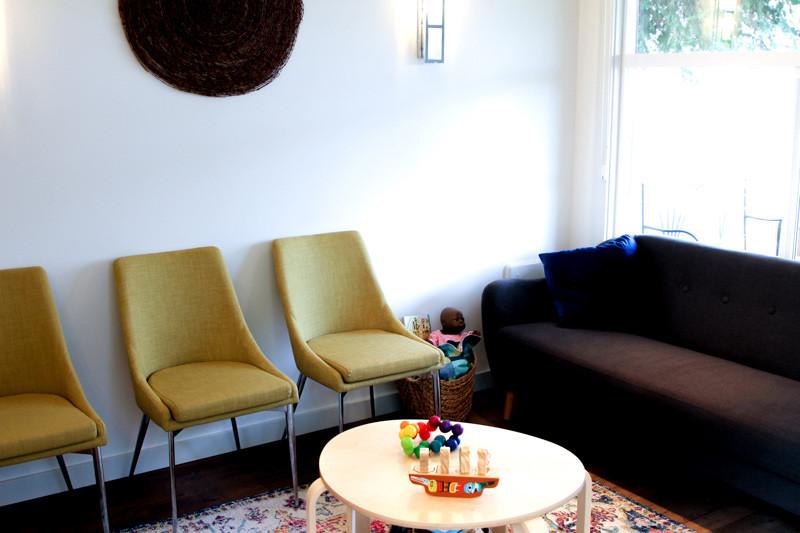 Cedar House Midwives Waiting Room