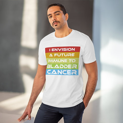 I Envision A Future Immune To Bladder Cancer Organic T-shirt - Unisex