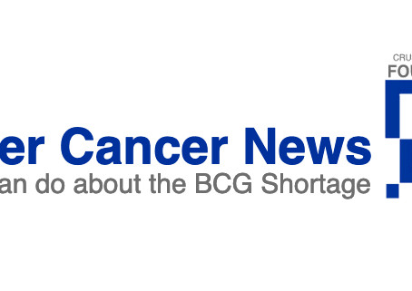 BCG Shortage Concerns - Bladder Cancer