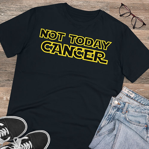 Not Today Cancer Organic T-shirt - Unisex