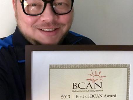 2017 Best Of BCAN Award