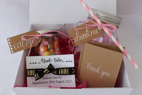 Treat Your Bridesmaids And Friends To One Of Our Adorable Hen Do Gift Bo For Coming Up Each Gorgeous Box Contains A Drinks Jar Straw