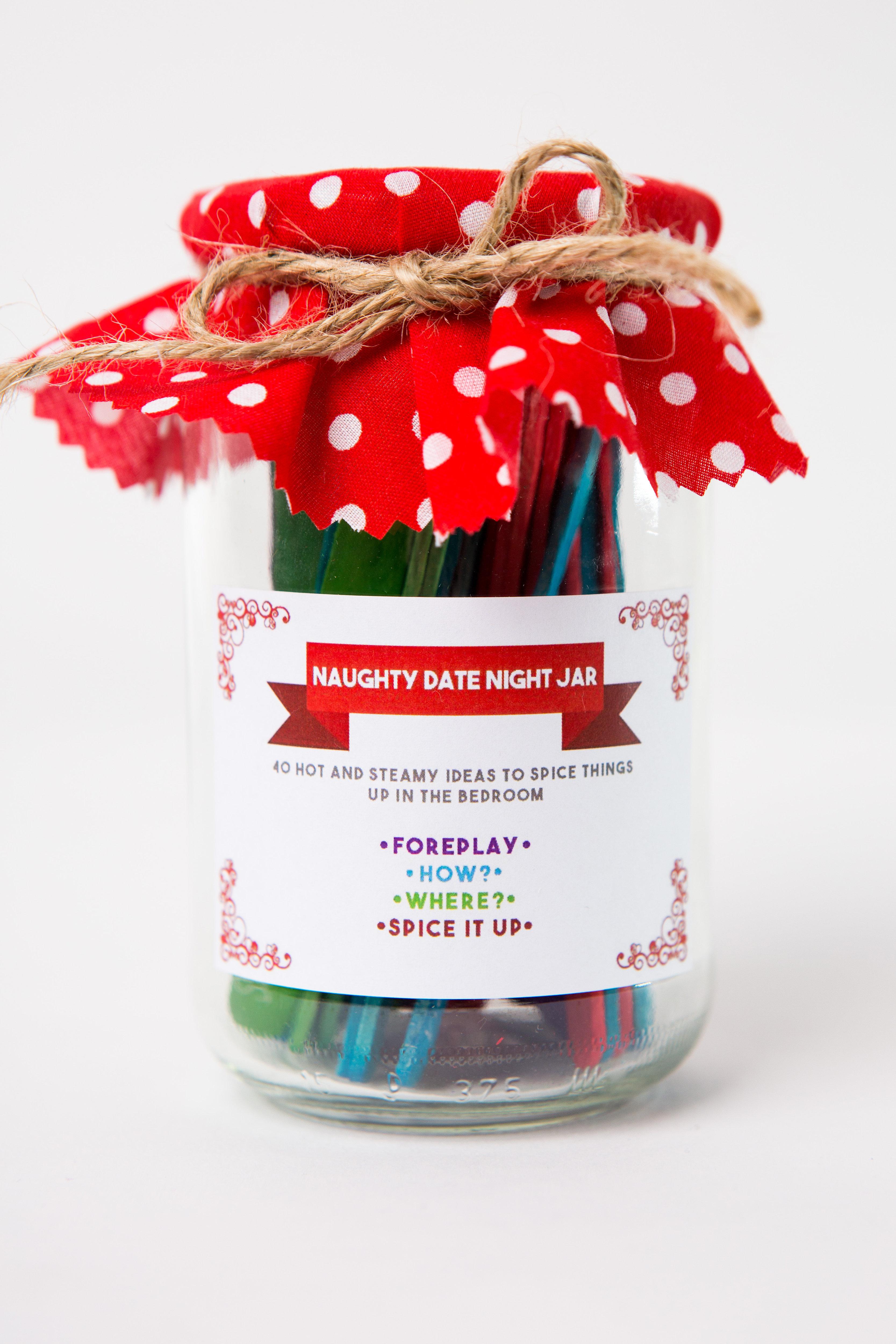 . Naughty Date Night Jar