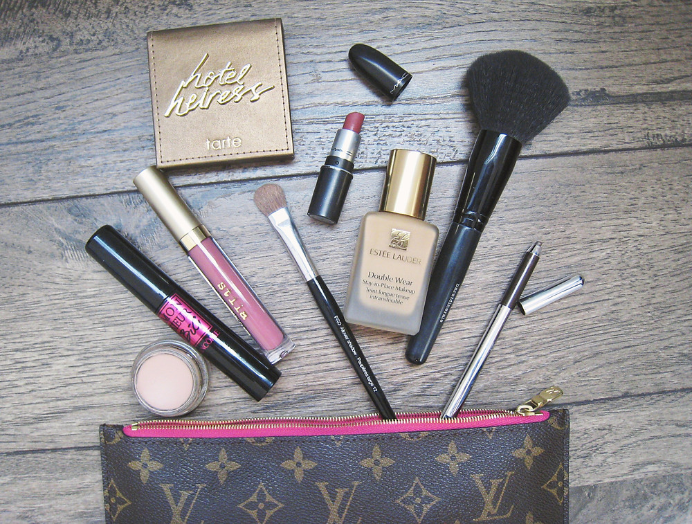 Makeup in a bag