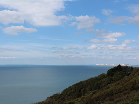 Isle of Wight in a Campervan