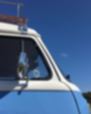 Blue Campervan