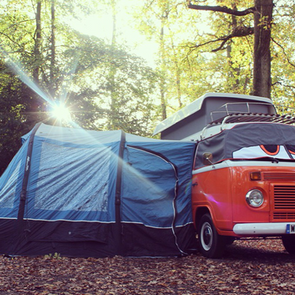 Ember Campervan with Vango Awning