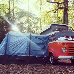 Ember Campervan with Vango Awning