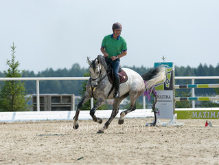 July 30 for the first time in the world in  Maxima Stables a show-jumping tournament was held for ve