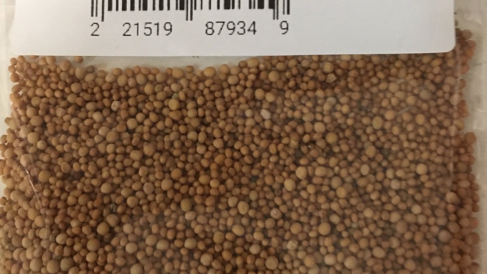 Yellow Mustard Seed - 1 Ounce