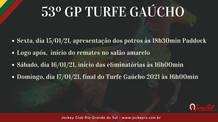 TURFE GAUCHO TEM FINAL DOMINGO
