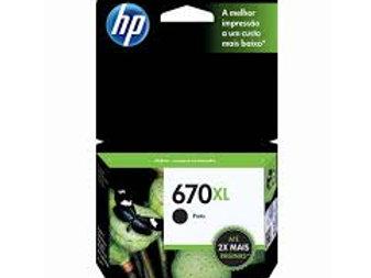HP 670 XL Preto