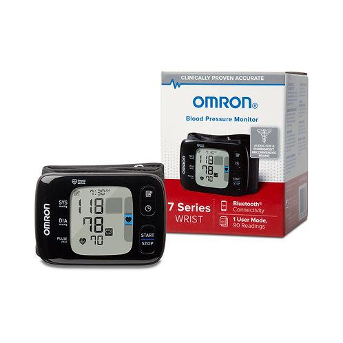Omron® 7 Series Digital Blood Pressure Wrist Unit, Automatic Inflation, Adult, O