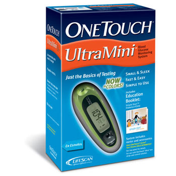 OneTouch UltraMini Blood Glucose System Kit