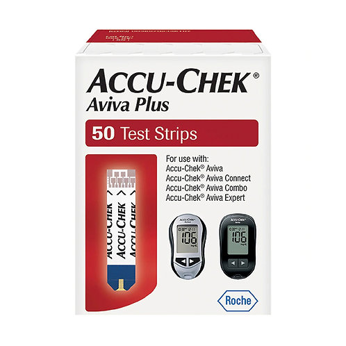 Accu-Chek® Aviva Plus Blood Glucose Test Strips