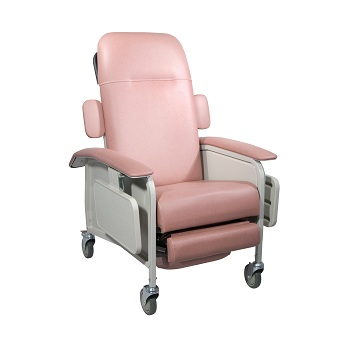 4-Position Clinical Care Recliner Chair