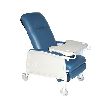 3-Position Bariatric Geri Recliner Chair