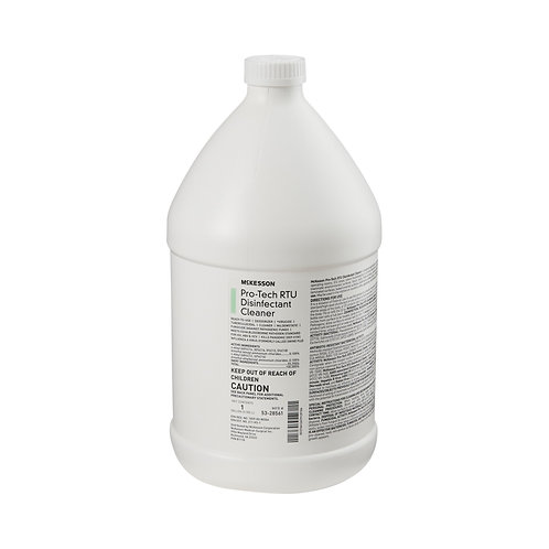 McKesson Pro-Tech Surface Disinfectant Cleaner Alcohol-Based Liquid, Non-Sterile