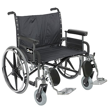 Bariatric Transport Chair Deluxe