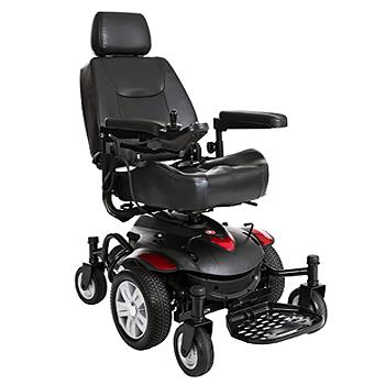 Titan AXS Mid-Wheel Drive Powerchair