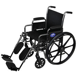 Dual Axle Height Adjustable Manual Wheelchair
