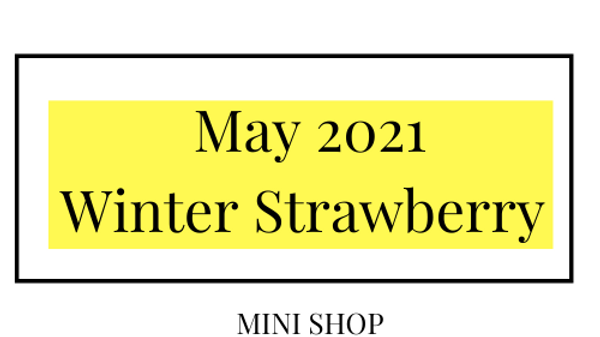 Mini Online Shop - May 2021 - Winter Strawberry