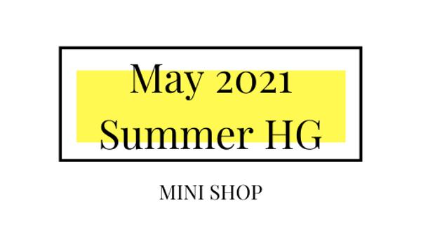 Mini Online Shop - May 2021 - Summer Hourglass