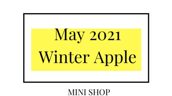 Mini Online Shop - May 2021 - Winter Apple