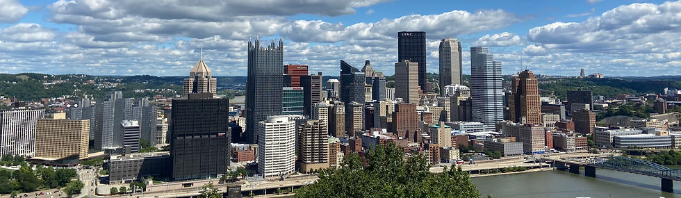 Pittsburgh Skyline take by Pittsburgh Design & Engineering Services