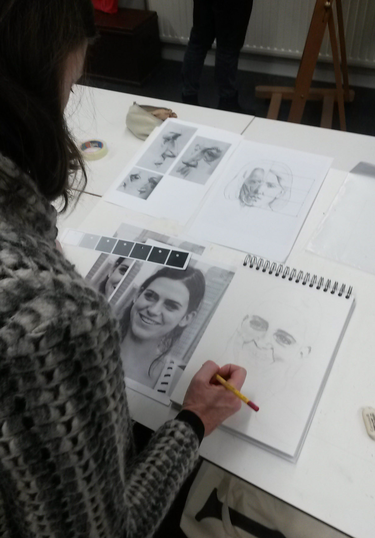 Portret Tekenen & Schilderen