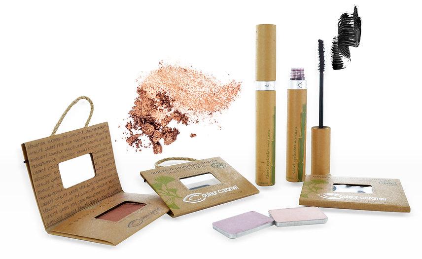 Maquillage Couleur Caramel chez L'instant B